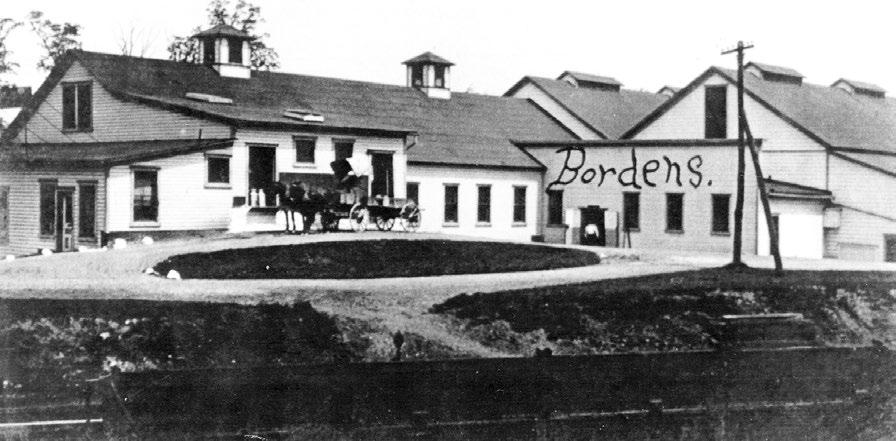 Borden's Creamery Photo