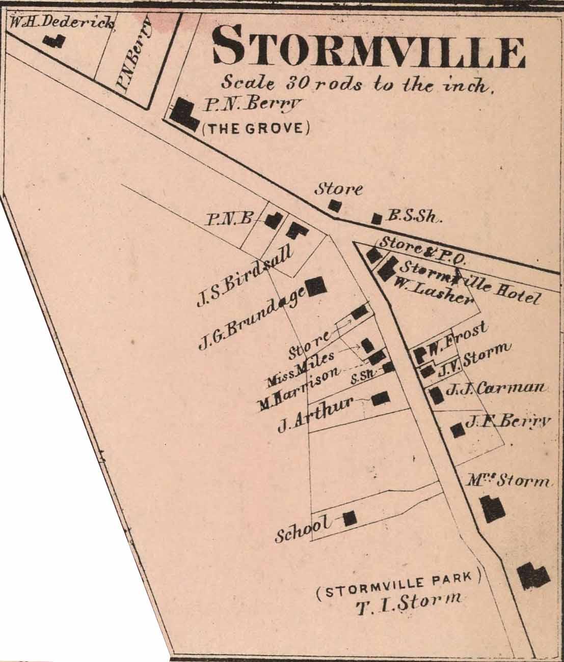 Stormville Hamlet Map 2