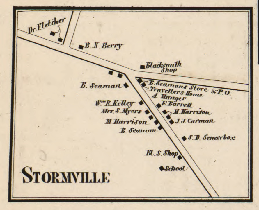 Stormville Hamlet Map 1